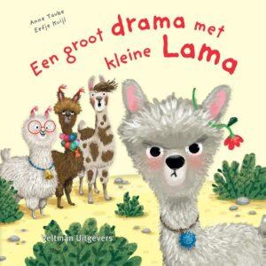 kinderboek een groot drama met kleine lama